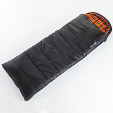 SKANDIKA GREENLAND HIGH-END ENVELOPE SLEEPING BAG 220x80 -25°C LEFT ZIP NEW