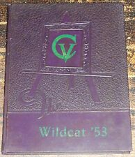 Cotton Valley Louisana High School Yearbook 1953 Wildcat