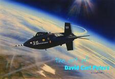 The X-15 flown by Scott Crossfield... Aviation Art by David Carl Peters