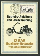 GERMANY MK MOTORCYCLE MOTORRAD DKW MAXIMUMKARTE CARTE MAXIMUM CARD MC CM d9101