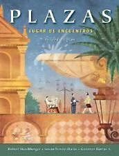 Plazas: Lugar de encuentros (with Audio CD's) (Available Titles CengageNOW) Her