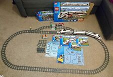 Lego 60051 Electric RC Passenger Train 7895 Track Extension Boxed VGC