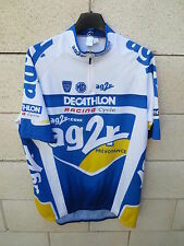 Maillot cycliste AG2R DECATHLON RACING CYCLE Tour France 2004 cycling shirt XL
