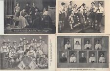 MUSIC MUSIQUE ORCHESTRA BANDS ENTERTAINERS ARTISTES 52 CPA (mostly pre-1940)