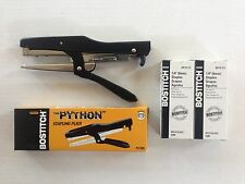 Stanley Bostitch P3-IND Plier Stapler + 2 Boxes of Staples