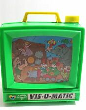 Vtg VIS U MATIC Television Toy 1970s Visumatic A Child Guidance Toy 2945