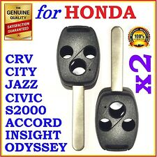 Honda Accord/CRV/Civic/City/Jazz/Odyssey/S2000 Three Button Key Remote Shell