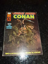 The SAVAGE SWORD of CONAN the BARBARIAN Comic - No 6 - Date 06/1975 - Marvel