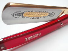 "PREMIER BEAUTY !! BLOODY RED DORKO Straight Razor, Coupe Chou 7/8"" Solingen LOOK"