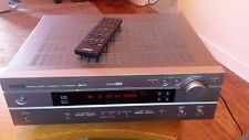 Yamaha HTR-5550RDS AUDIO/VIDEO AV RECEIVER AMPLIFIER FM/AM, CD/DVD/MD/VCR INPUTS