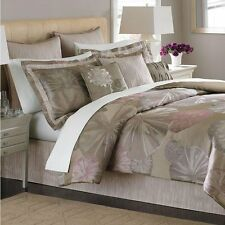Martha Stewart Echo Pond 9 PC King Comforter Set Taupe