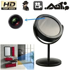 SPY Hidden Home Mirror Camera DVR Motion Detection Video Camcorder Cam Black TL