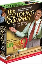Lifestyle #9 - Vols. 1-4: Travelling Culinary Recipe Box Set (DVD, 2006)
