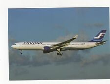 Finnair A330-302 at Toulouse Aviation Postcard, A637