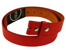 "ITZU Apparel Co. - 100% Genuine Bonded Leather SNAP ON Belt for 1.5"" Buckle"