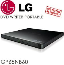 LG GP65NB60 SATA External Drive DVD 8x record Slim Portable Writer USB Burner