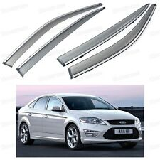 Car Window Visor Vent Shade Rain/Sun/Wind Guard for Ford Mondeo Sedan 2007-2012