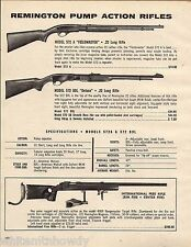 1974 Remington Model 572 A Fieldmaster, 572 BDL, International Free Rifle Ad