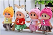 Baby Dolls Mini Doll Girls Cell Phone Charms Straps Accessories Keychain Toys