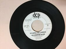NORTHERN SOUL 45 RPM RECORD - THE CRAMPTON SISTERS - DCP 1101- PROMO