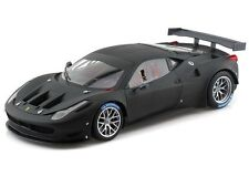 1:18 HOT WHEELS BCK09 ELITE FERRARI 458 ITALIA GT2 FLAT BLACK Matt
