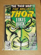 THOR THE MIGHTY #441 VOL 1 MARVEL DECEMBER 1991