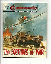 COMMANDO # 1441 (The FORTUNES of WAR)
