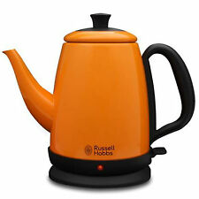 BrandNew Russell Hobbs Stainless Steel Electric Kettle Orange Red 1L 220V 1000W