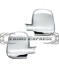 2003-2012 Chevy Express/GMC Savana Van 3Dr Chrome Door Mirror Full Covers Pair