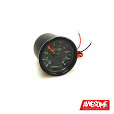 NEWSOUTH PERFORMANCE INDIGO 0 30PSI 52MM BOOST GAUGE VW GOLF 4 & 5 PETROL GAU001