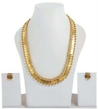 1986 Indian Gold Plated Bollywood Fashion Costume Earring Necklace Jewellery
