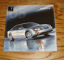 Original 2005 Pontiac Grand Prix Deluxe Sales Brochure 05