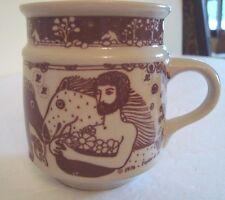 VINTAGE TAYLOR & NG MAN HORSE MUG Centaurs Greek Mythology  JAPAN