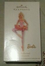 NEW Collectable Christmas BARBIE Ballerina Tree Ornament. 2012
