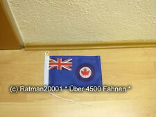 Fahnen Flagge Kanada Royal Air Force Tischwimpel - 15 x 25 cm