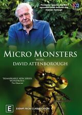 Micro Monsters - Attenborough [ DVD ] , LIKE NEW, Region 4, Next Day Post...5814