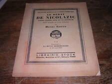 1922.Nicolazic / Ghéon.anne de bretagne plumeret