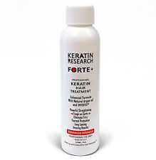 Keratin Research FORTE Extra Strength Blowout Treatment  4oz Keratin MADE IN USA