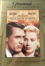 Hitchcock To Catch A Thief Cary Grant Grace kelly Region 4 DVD VGC