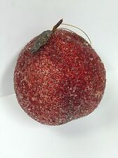 "HUGE Fruit Peach Ornament - 9""x8"" - Decorative (T-26)"