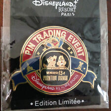 DLRP Paris Phantom Manor Pin Trading Event Stitch Chip and Dale Doombuggy Pin