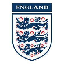 England crest shaped vinyl sticker 100mm x 70mm Euro 2016 Football