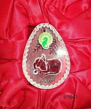 Waterford Crystal - 2010 Night 2nd Edition Sleeping Mouse Ornament - New In Box