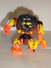 "Vintage 1994 Bluebird Mighty Max Battle Warriors Lava Beast 3"" Figure play set"