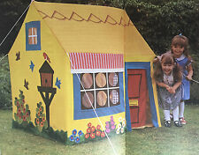 SEWING PATTERN Jean Greenhowe Wendy House Childrens Toy 135cm Tall Garden RARE