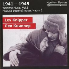 St.Petersburg State - Wartime Music 6 - Lev Knipper - Vi [New CD]