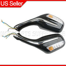 8mm Rear View Mirrors Scooter Moped GY6 50cc 150cc 250cc Roketa Taotao (1 pair)