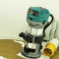 "101748G Katsu Wood Trimmer Router 1/4"" & 3/8"" Collet Chucks 700W 110V"