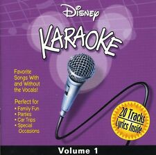 Vol. 1-Karaoke - Disney Karaoke Series (2000, CD NIEUW) Karaoke