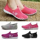 New Women Cool Casual Gym Walking Loafers Slip on Tennis Athletic Shoes Style